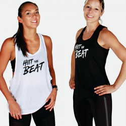 Hiit The Beat Basic Women Tank black